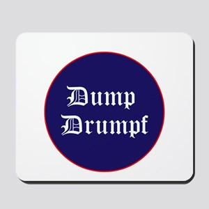Dump Drumpf, anti Trump Mousepad