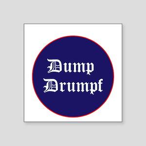 Dump Drumpf, anti Trump Sticker