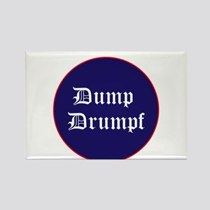 Dump Drumpf, anti Trump Magnets