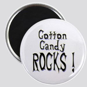Cotton Candy Rocks ! Magnet