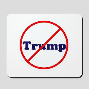 Anti Trump, Dump Drumpf, no Trump Mousepad