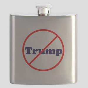 Anti Trump, Dump Drumpf, no Trump Flask