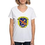 USS Oklahoma City (CLG 5) Women's V-Neck T-Shirt