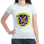 USS Oklahoma City (CLG 5) Jr. Ringer T-Shirt