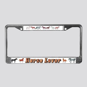 Horse Lover License Plate Frame