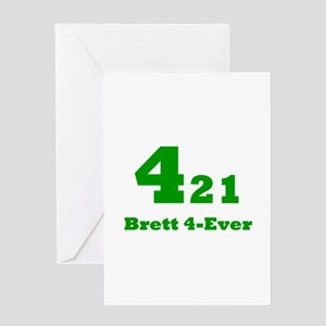 Brett 4-Ever Greeting Card