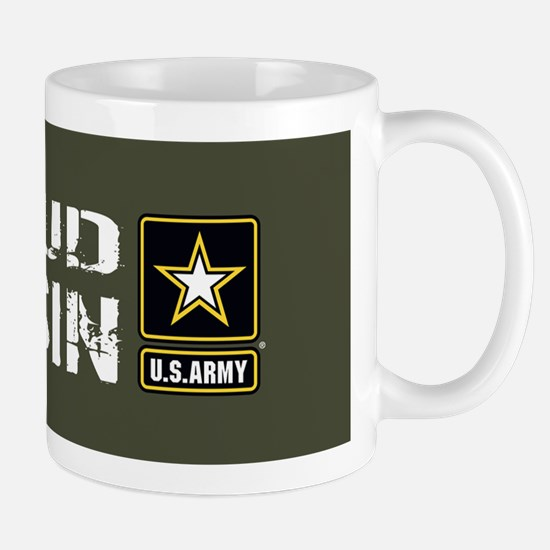 U.S. Army: Proud Cousin (Military Green Mug