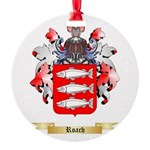 Roach Round Ornament