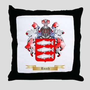 Roach Throw Pillow