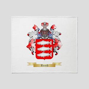 Roach Throw Blanket
