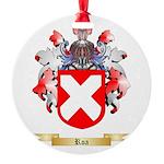 Roa Round Ornament