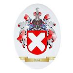 Roa Oval Ornament