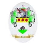 Rizo Oval Ornament