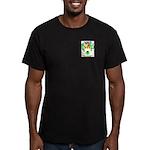 Riza Men's Fitted T-Shirt (dark)