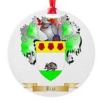 Riza Round Ornament