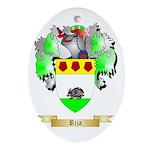 Riza Oval Ornament