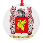 Riviere Round Ornament