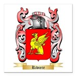 Riviere Square Car Magnet 3