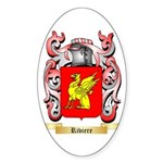 Riviere Sticker (Oval 50 pk)