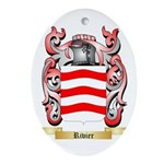 Rivier Oval Ornament