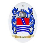 Rivetti Oval Ornament