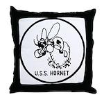 USS Hornet (CV 8) Throw Pillow