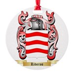 Riveros Round Ornament