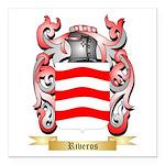 Riveros Square Car Magnet 3