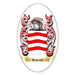 Riveros Sticker (Oval 50 pk)