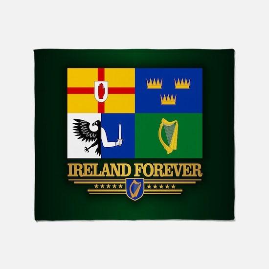 Four Provinces Flag Throw Blanket