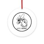 USS Hornet (CV 8) Ornament (Round)