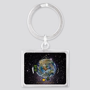 Hiker's Soul Compass Space Keychains