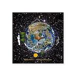 Hiker's Soul Compass Space Sticker