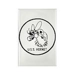 USS Hornet (CV 8) Rectangle Magnet (10 pack)