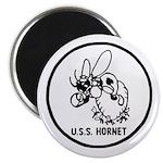 """USS Hornet (CV 8) 2.25"""" Magnet (10 pack)"""