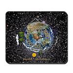 Hiker's Soul Compass Space Mousepad