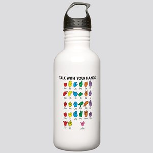 Learn Sign Language Stainless Water Bottle 1.0L