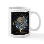 Hiker's Soul Compass Space Mugs