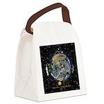 Hiker's Soul Compass Space Canvas Lunch Bag