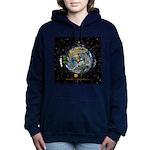 Hiker's Soul Compass Space Women's Hooded Sweatshi