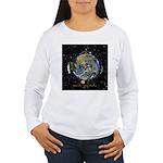 Hiker's Soul Compass Space Long Sleeve T-Shirt