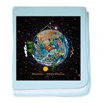Hiker's Soul Compass Space baby blanket