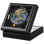 Hiker's Soul Compass Space Keepsake Box