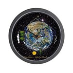 Hiker's Soul Compass Space Wall Clock