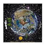 Hiker's Soul Compass Space Tile Coaster