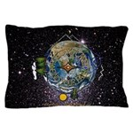 Hiker's Soul Compass Space Pillow Case