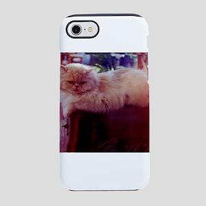 Rafferty persian cat relaxin iPhone 8/7 Tough Case