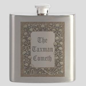 The Taxman Cometh Flask