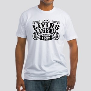 Living Legend Since 1957 Fitted T-Shirt