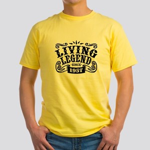 Living Legend Since 1957 Yellow T-Shirt